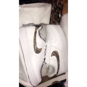 SnakeSkin Nike AirForces